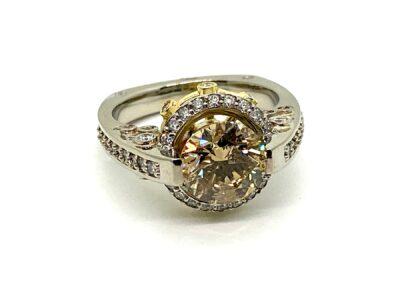 Custom Diamond Ring Design