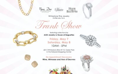 Trunk for featuring AOD Jewelry & House of Baguettes